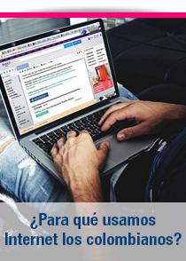 Para que usamos internet los colombianos