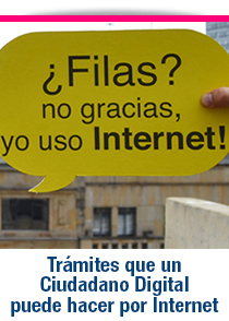 Trámites por internet